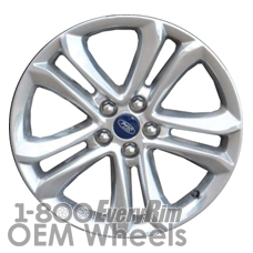 Picture of Ford EDGE (2015-2017) 18x8 Aluminum Alloy Polished 5 Double Spoke [10044]