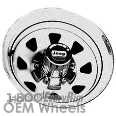 Picture of Jeep CHEROKEE (1978) 15x7 Steel Chrome 8 Spoke [01078]