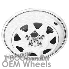 Picture of Chrysler ASPEN (1980) 14x6 Steel White 8 Spoke [01180]