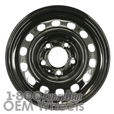 Picture of Pontiac 6000 (1983-1991) 14x5.5 Steel Black 14 Hole [01332A]