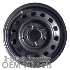 Picture of Cadillac DEVILLE (1985-1988) 14x6 Steel Black 14 Hole [01406]