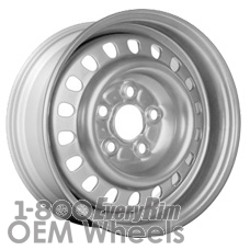 Picture of Pontiac 6000 (1982-1983) 13x5.5 Steel Silver 18 Hole [01433A]