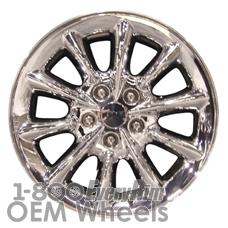 Picture of Chrysler 300M (2003-2004) 17x7 Aluminum Alloy Chrome Clad 10 Spoke [02171]