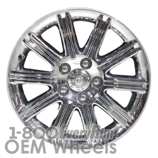 Picture of Chrysler ASPEN (2007-2009) 20x8 Aluminum Alloy Chrome Clad 10 Spoke [02294]