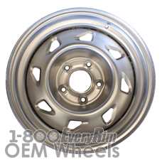 Picture of Isuzu HOMBRE (1996-1997) 15x7 Steel Silver 8 Hole [05030]