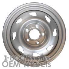 Picture of Isuzu HOMBRE (1998-2000) 15x7 Steel Silver 8 Hole [05040]