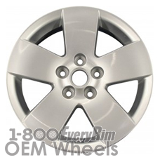 Picture of Saturn AURA (2007-2008) 16x6.5 Aluminum Alloy Machined and Silver 5 Spoke [05045]