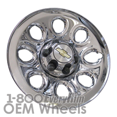 Picture of Chevrolet AVALANCHE 1500 (2007-2013) 17x7.5 Steel Chrome Clad 8 Hole [05223]