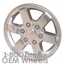 Picture of GMC CANYON (2008-2010) 16x6.5 Aluminum Alloy Chrome Clad 6 Spoke [05364]