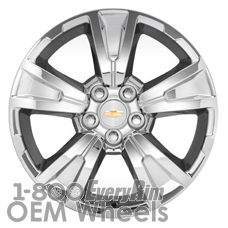 Picture of Chevrolet EQUINOX (2010-2016) 19x7 Aluminum Alloy Chrome Clad 5 Spoke [05435]