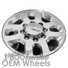 Picture of Chevrolet SILVERADO 2500 PICKUP (2015) 18x8 Aluminum Alloy Chrome 8 Spoke [05701]