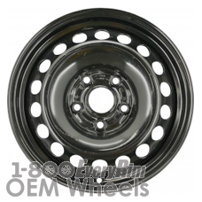 Picture of Audi A4 (1996-2001) 15x6 Steel Black 20 Hole [58681]
