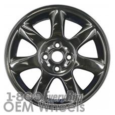 Picture of Mini CLUBMAN (2008-2014) 16x6.5 Aluminum Alloy Black 7 Spoke [59570C]