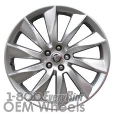 Picture of Jaguar F TYPE (2014-2015) 20x9 Aluminum Alloy Silver 10 Spoke [59915]
