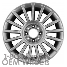 Picture of Fiat 500 (2012-2015) 15x6 Aluminum Alloy Chrome 17 Spoke [61662]