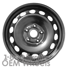 Picture of Fiat 500X (2014-2017) 16x6.5 Steel Black 14 Hole [61667]