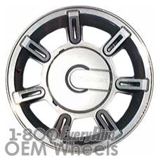 Picture of Hummer H2 (2004-2007) 17x8.5 Aluminum Alloy Chrome 7 Spoke [06301]