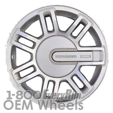 Picture of Hummer H3 (2006-2009) 16x7.5 Aluminum Alloy Silver 7 Double Spoke [06304A]