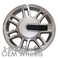 Picture of Hummer H3 (2008-2010) 16x7.5 Aluminum Alloy Machined with Silver 7 Double Spoke [06304C]