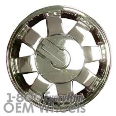 Picture of Hummer H2 (2006) 17x8.5 Aluminum Alloy Chrome 8 Spoke [06305]