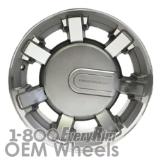 Picture of Hummer H2 (2008-2009) 17x8.5 Aluminum Alloy Machined with Grey 7 Spoke [06309A]