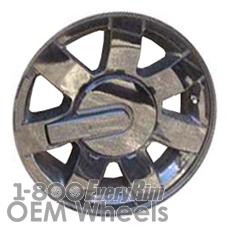 Picture of Hummer H3 (2007) 16x7.5 Aluminum Alloy Black 7 Spoke [06312]