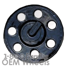 Picture of Hummer H3 (2009-2010) 16x7.5 Steel Black 7 Hole [06314]