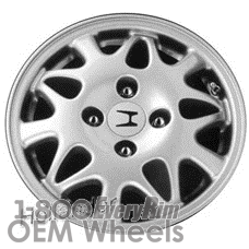Picture of Honda ACCORD (1997) 15x5.5 Aluminum Alloy Chrome 15 Spoke [63805]
