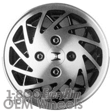 Picture of Honda ACCORD (1990-1993) 14x5 Aluminum Alloy Machined with Black 24 Spoke [63806A]