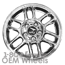 Picture of Honda ACCORD (2001-2005) 16x6.5 Aluminum Alloy Chrome 6 Double Spoke [63825]