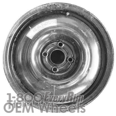 Picture of Acura EL (2001-2002) 15x4 Steel Black  Solid Disc [63826]