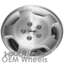 Picture of Isuzu OASIS (1996-1999) 15x6 Aluminum Alloy Machined 5 Spoke [64212]