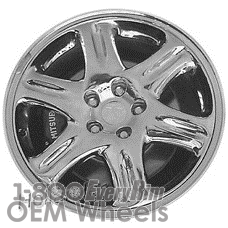 Picture of Mitsubishi 3000GT (1995-1999) 18x8.5 Aluminum Alloy Chrome 6 Spoke [65746]