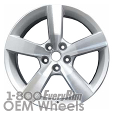 Picture of Saturn AURA (2007) 18x7 Aluminum Alloy Machined and Silver 5 Spoke [06597]