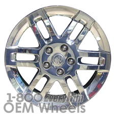 Picture of Buick ALLURE (2005-2009) 17x6.5 Aluminum Alloy Polished 6 Double Spoke [06612]