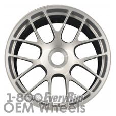 Picture of Porsche 911 (2011-2013) 19x11 Aluminum Alloy Silver 7 Y Spoke [67412A]