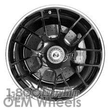 Picture of Porsche 911 (2011-2013) 19x11 Aluminum Alloy Black 7 Y Spoke [67412B]