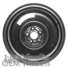 Picture of Scion FR-S (2013-2016) 16x4 Steel Black  Solid Disc [68800]
