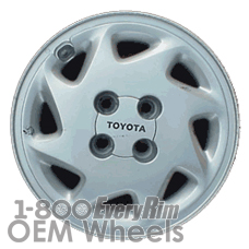 Picture of Toyota PASEO (1997-1999) 14x5.5 Polycast Silver 8 Spoke [69365]