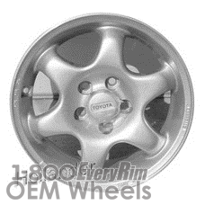 Picture of Toyota CELICA (1994-1995) 14x6 Aluminum Alloy Silver 6 Spoke [69518]