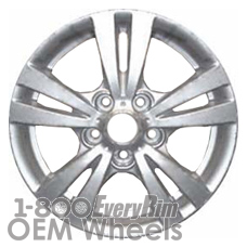 Picture of Hyundai SONATA (2009-2010) 16x6.5 Aluminum Alloy Chrome  (for use with TPMS Sensor) 10 Spoke [70766B]