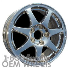Picture of Acura NSX (1994-2001) 16x7 Aluminum Alloy Chrome 7 Spoke [71661]