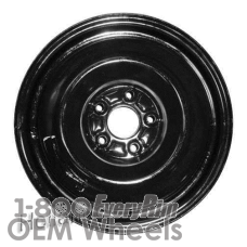 Picture of Acura CL (2001-2003) 16x4 Steel Black  Solid Disc [71691]