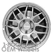 Picture of Acura NSX (1999) 16x7 Aluminum Alloy Chrome 8 Y Spoke [71704]