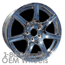Picture of Acura NSX (2002-2005) 17x7 Aluminum Alloy Chrome 7 Spoke [71723]
