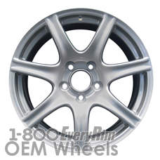 Picture of Acura NSX (2002-2005) 17x7 Aluminum Alloy Silver 7 Spoke [71723]