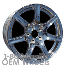 Picture of Acura NSX (2002-2005) 17x9 Aluminum Alloy Chrome 7 Spoke [71724]