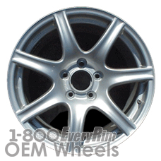 Picture of Acura NSX (2002-2005) 17x9 Aluminum Alloy Silver 7 Spoke [71724]