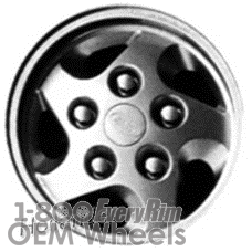 Picture of Land Rover DEFENDER (1994-1998) 16x7 Aluminum Alloy Silver 5 Spoke [72142]