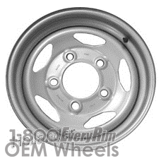 Picture of Land Rover DISCOVERY (1994-1999) 16x7 Steel Silver 5 Vent [72148]